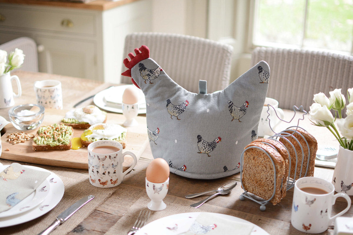 Chicken Shaped Tea Cosy