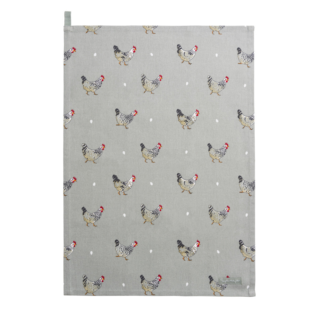 Chicken Tea Towel