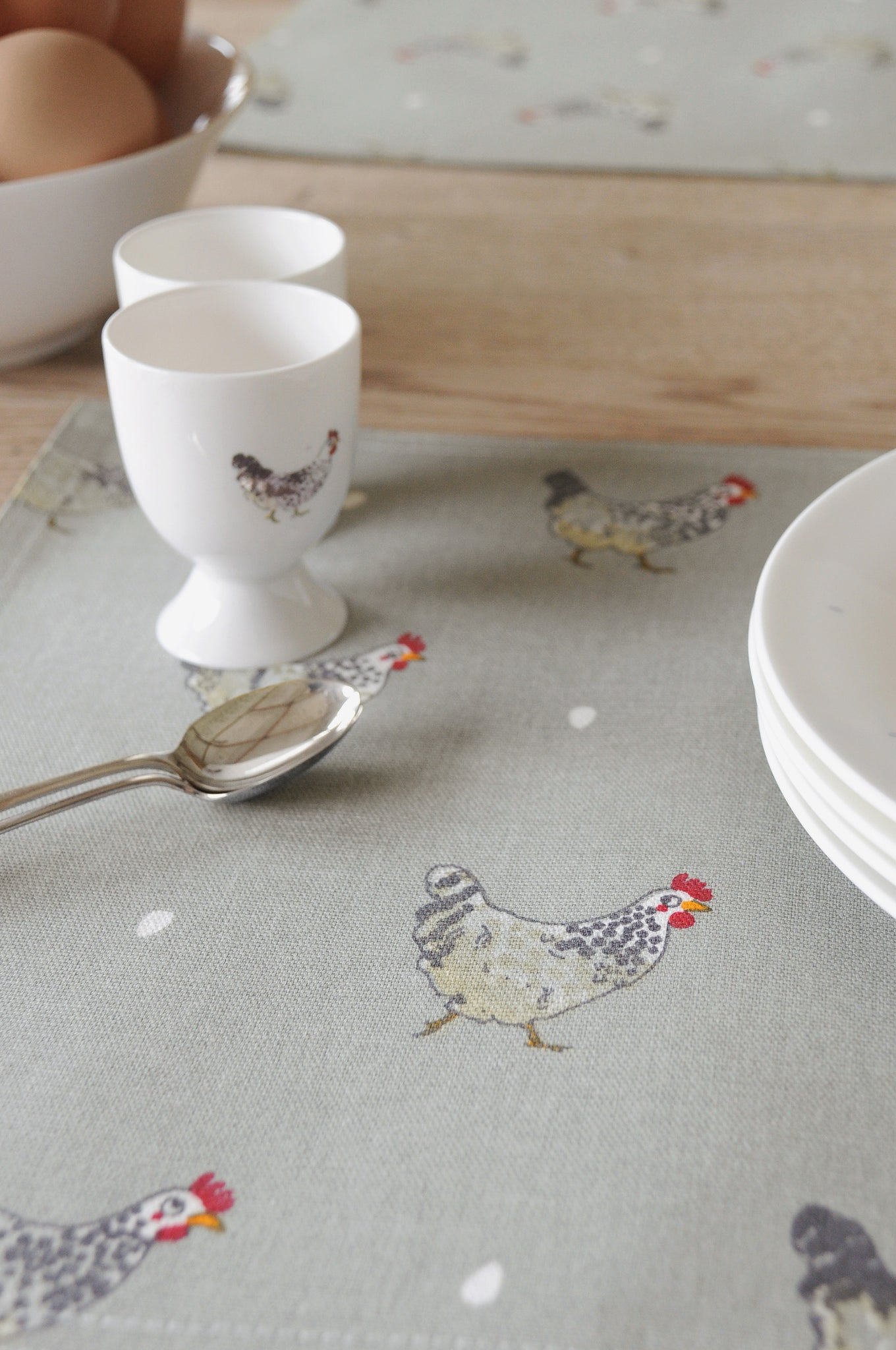 Chicken Fabric Placemat