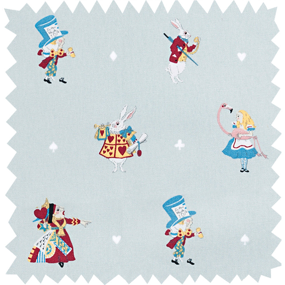 Alice in Wonderland Fabric Sample