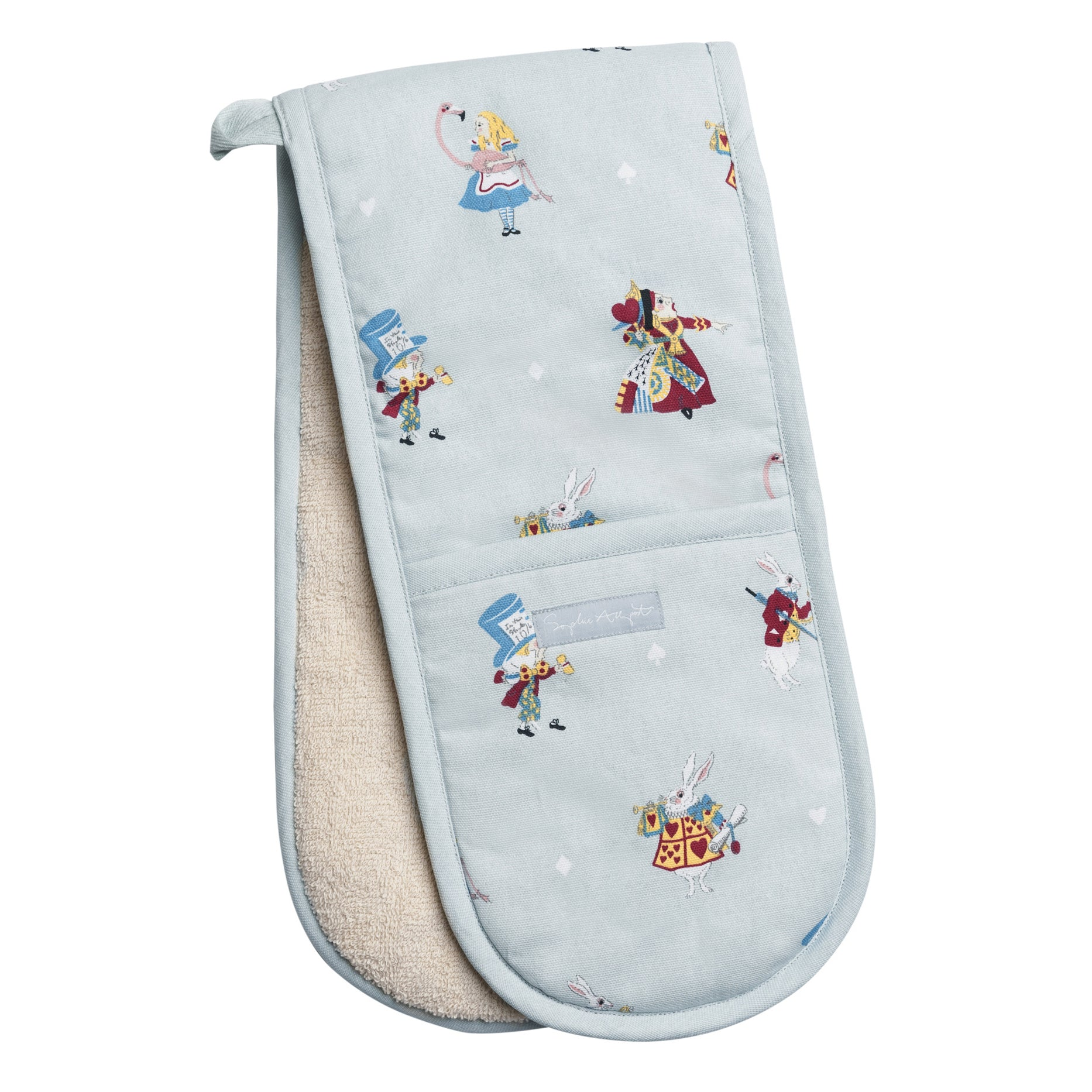 Alice in Wonderland Double Oven Glove