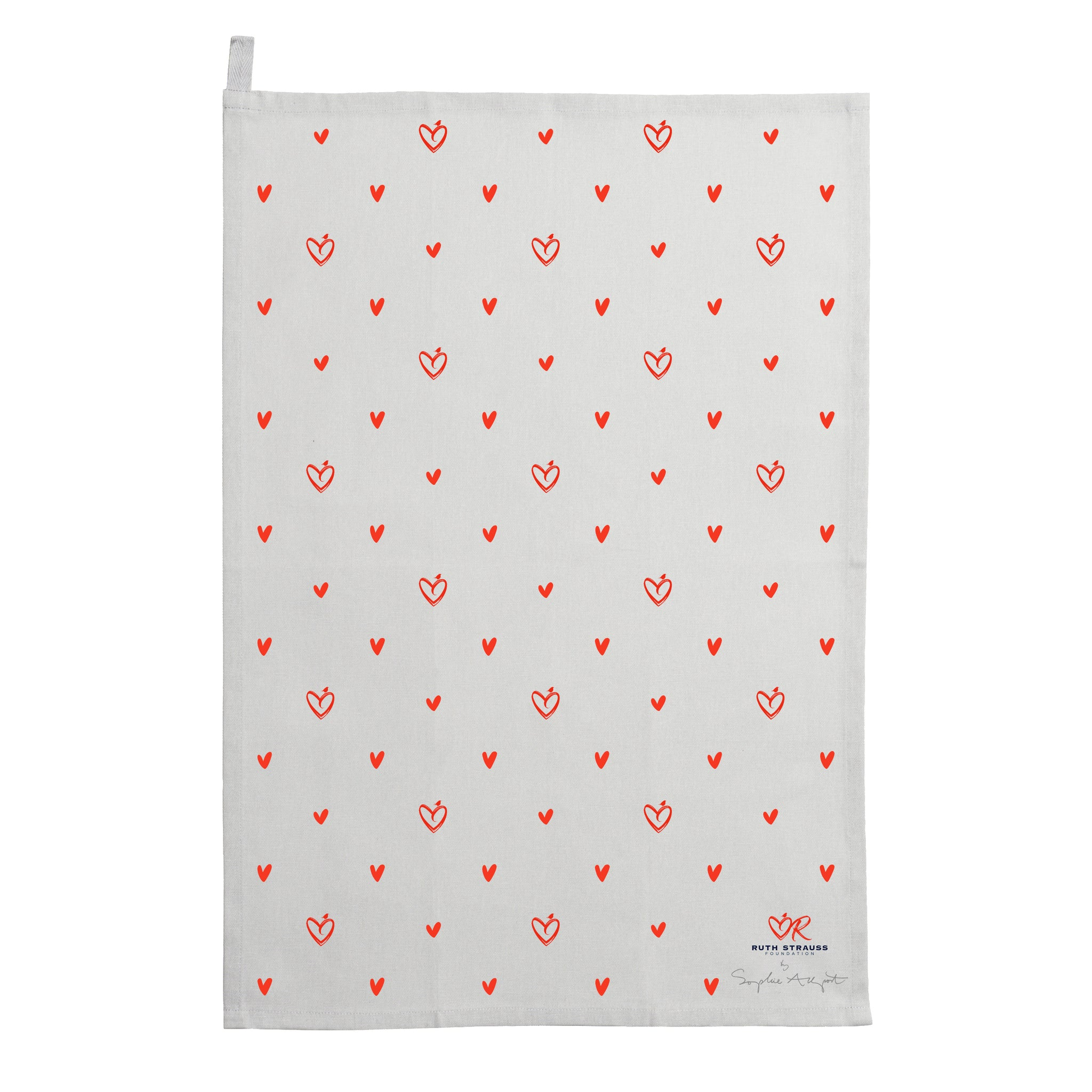 The Ruth Strauss Foundation Tea Towel