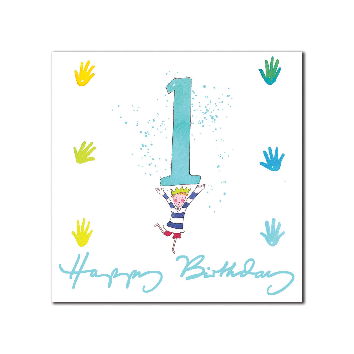 Happy 1st Birthday Boy Greeting Card
