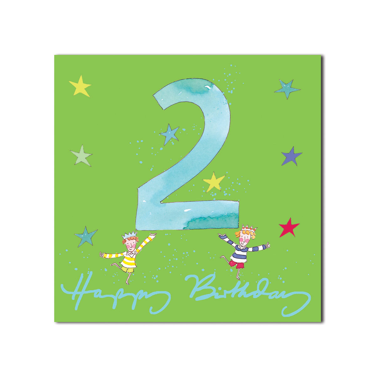 Happy 2nd Birthday Boy Greeting Card