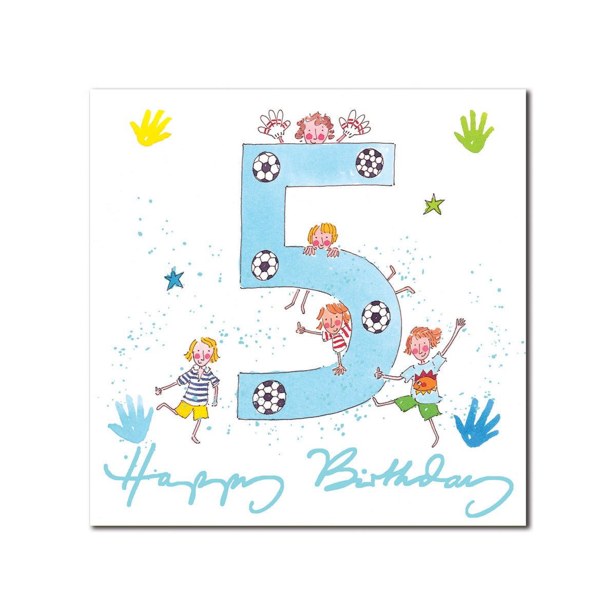 Happy 5th Birthday Boy Greeting Card