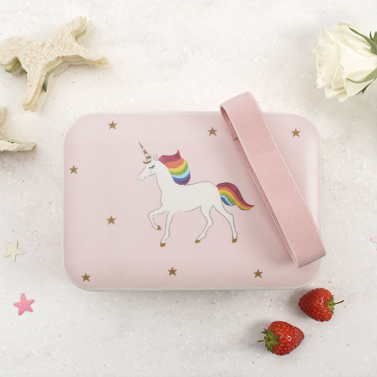 Unicorn Kids Bamboo Lunch Box by Sophie Allport