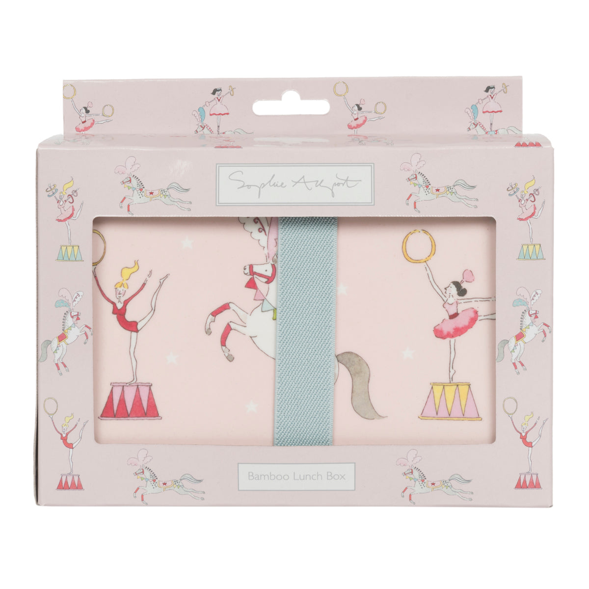 Fairground Ponies Kids Lunch Box by Sophie Allport