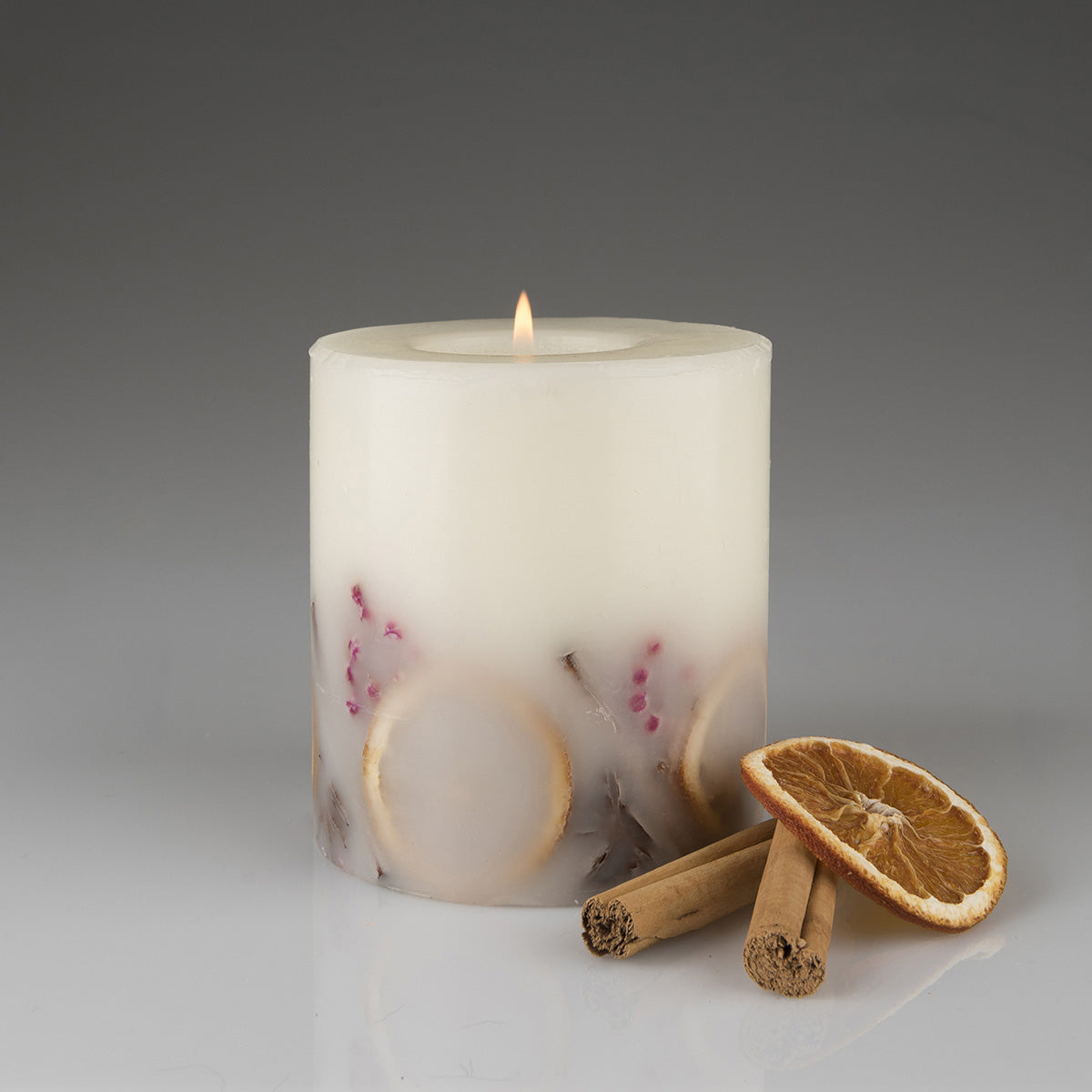 Cinnamon & Orange Botanical Candle