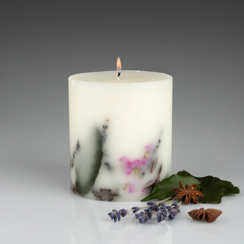 Honey Spiced Lavender Botanical Candle