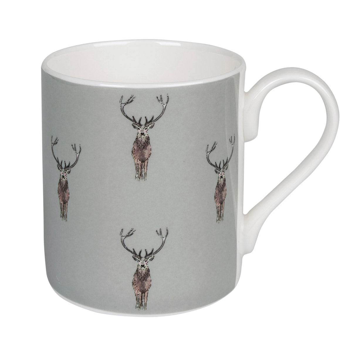 Highland Stag Coloured Mug