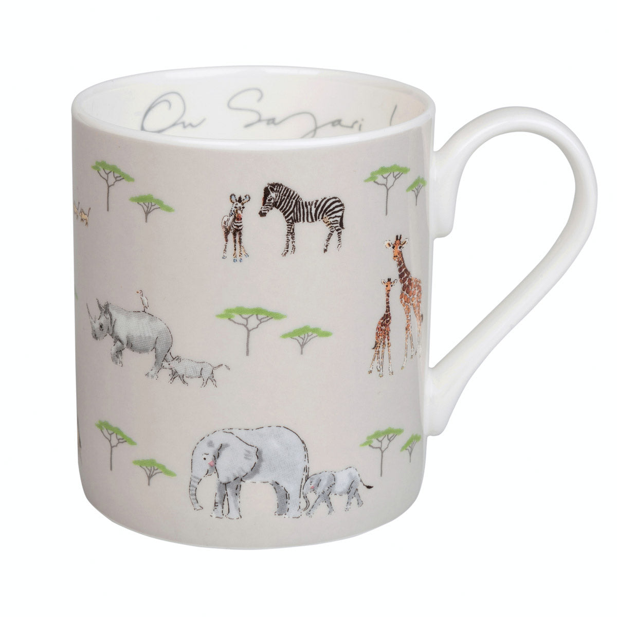 On Safari Coloured Mug
