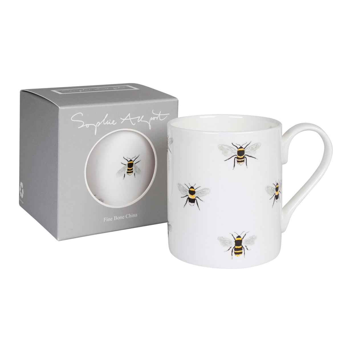 Bee Mug by Sophie Allport with gift box