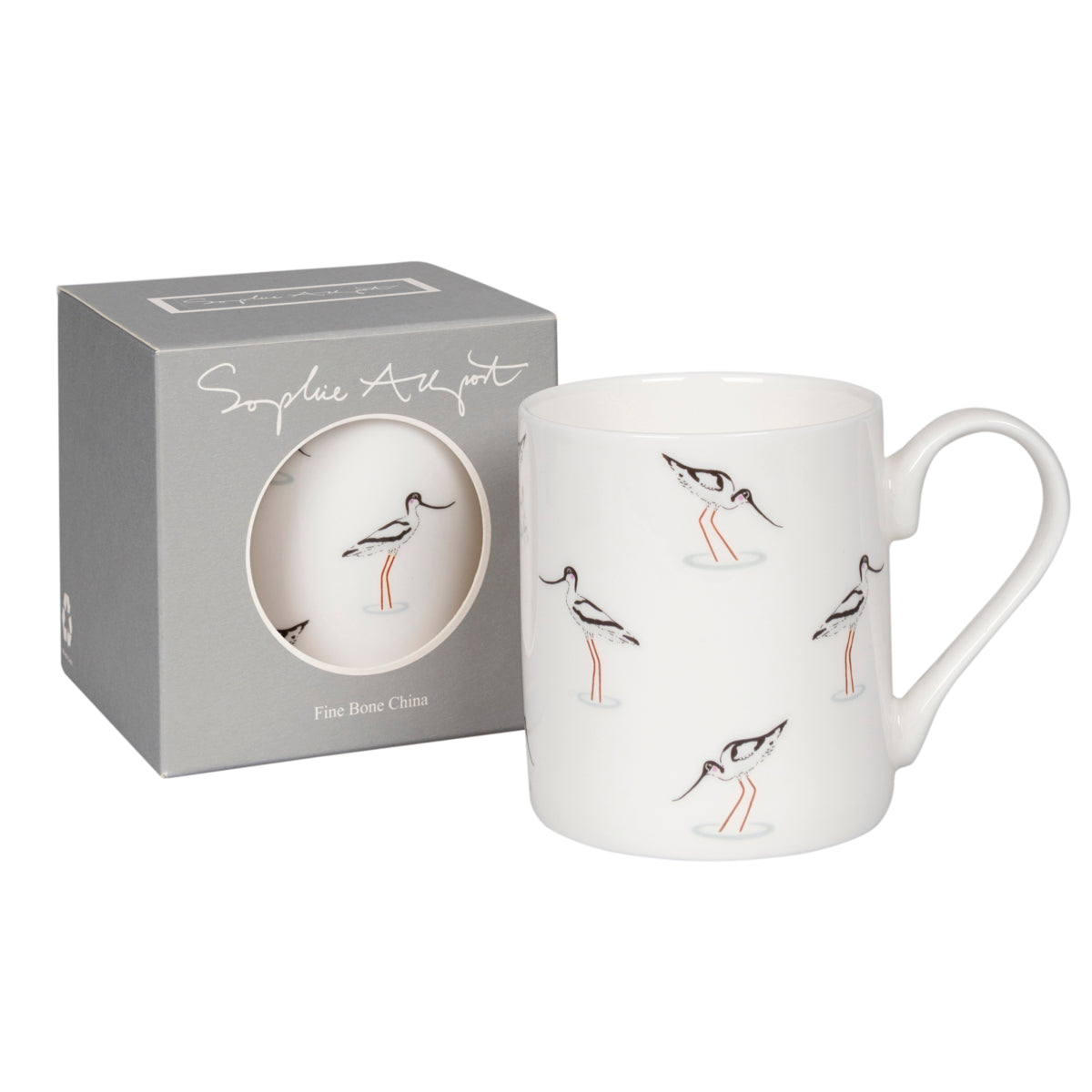 Sophie Allport Fine Bone China Coastal Birds Mug