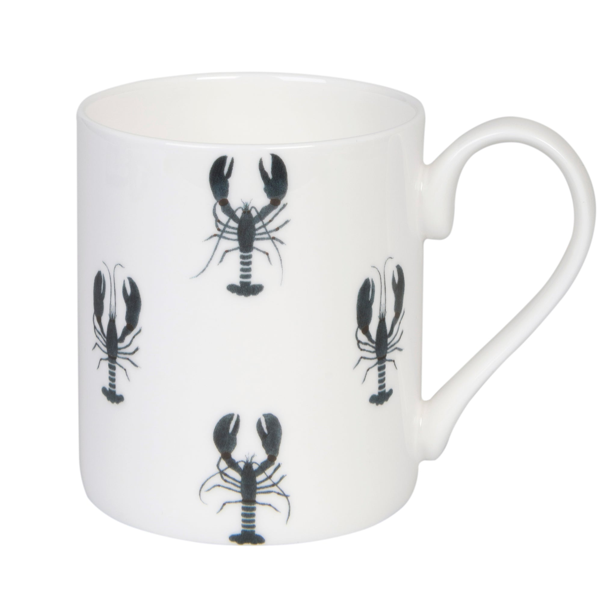 Fine Bone China Mug in Sophie Allport's Lobster Collection