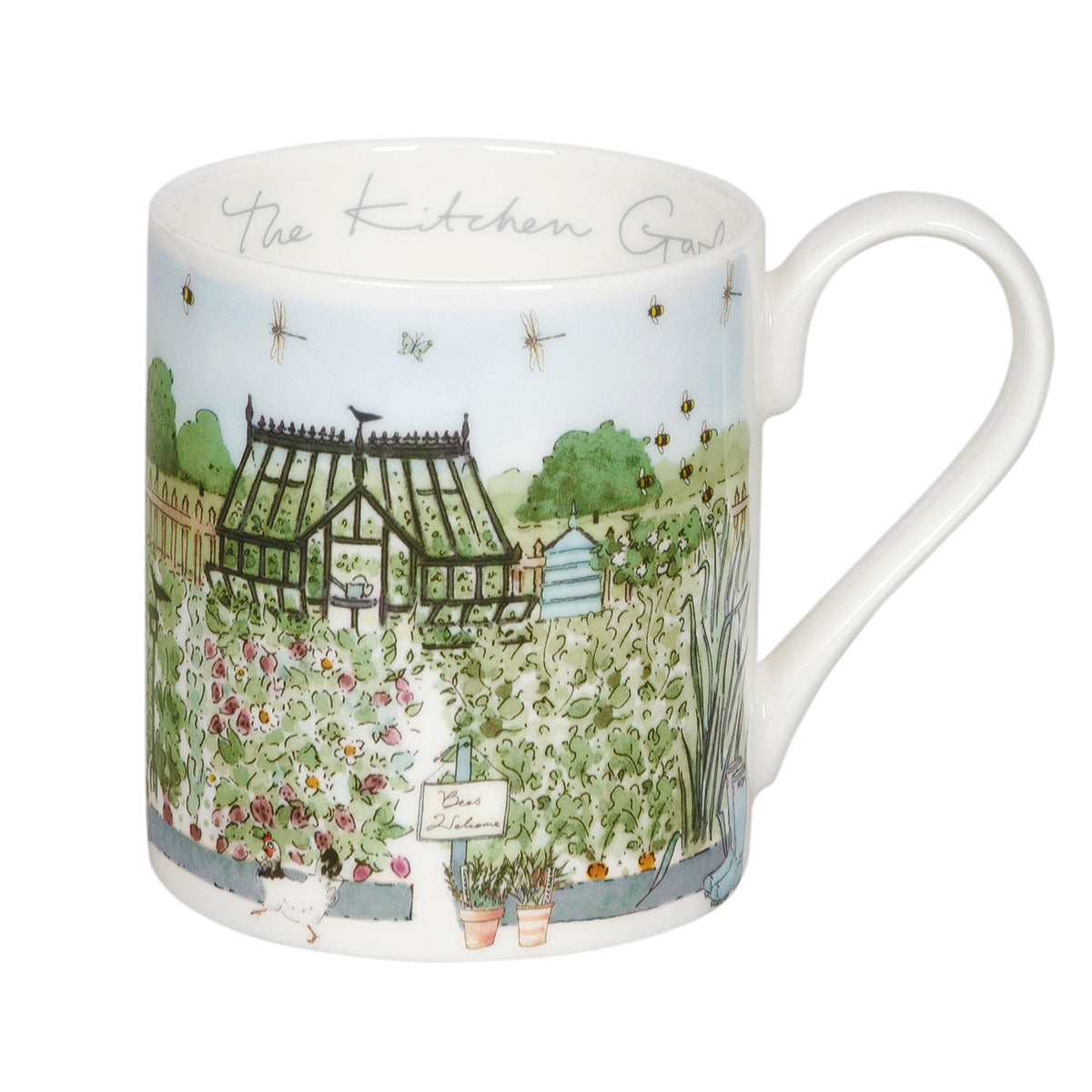 The Kitchen Garden Mug by Sophie Allport