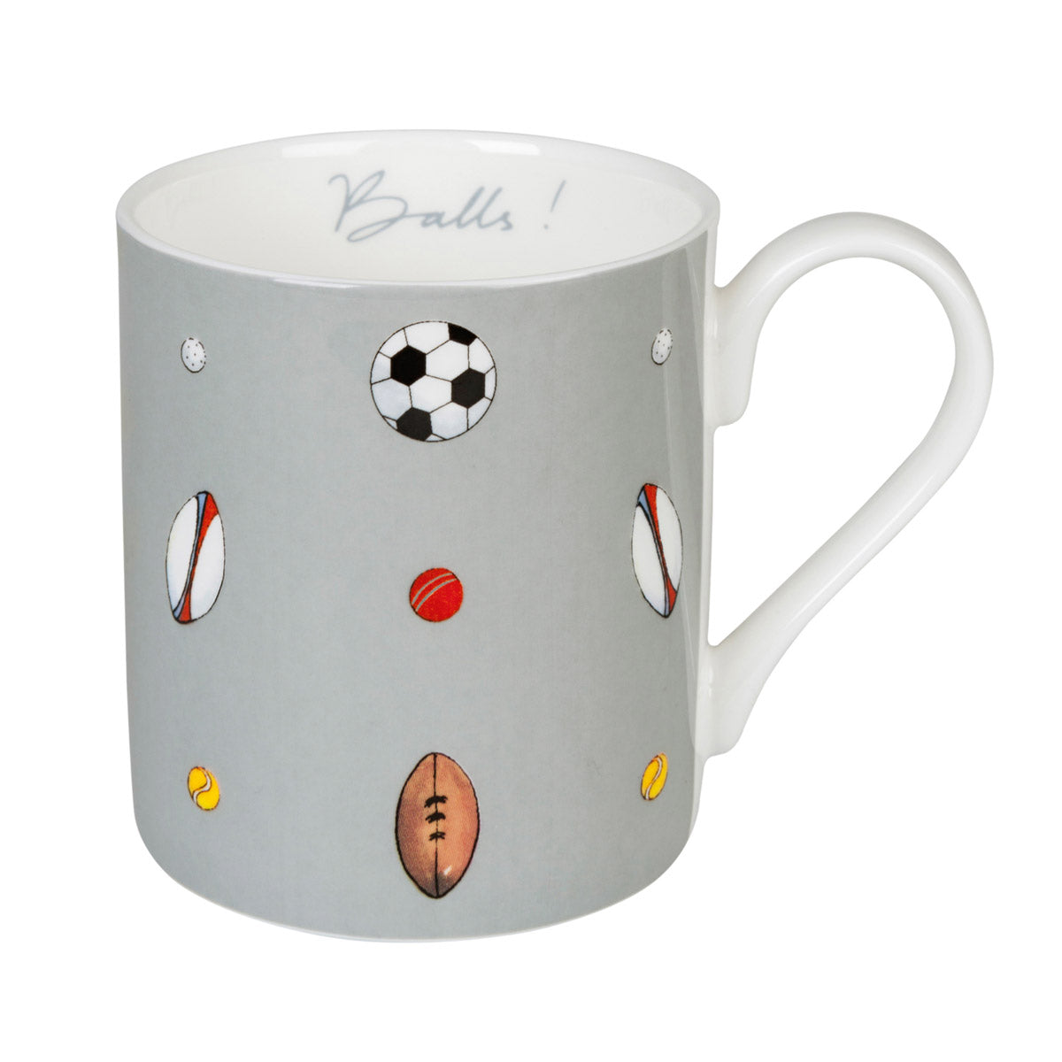 Balls Mug - Coloured