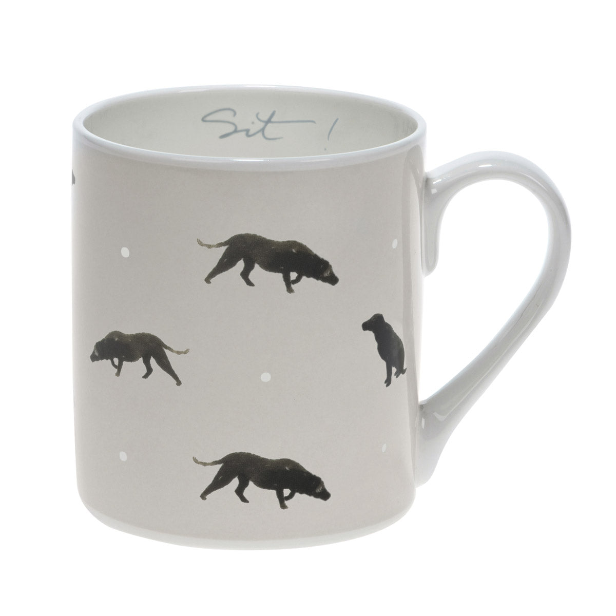 Sit! Labrador Mug - Coloured