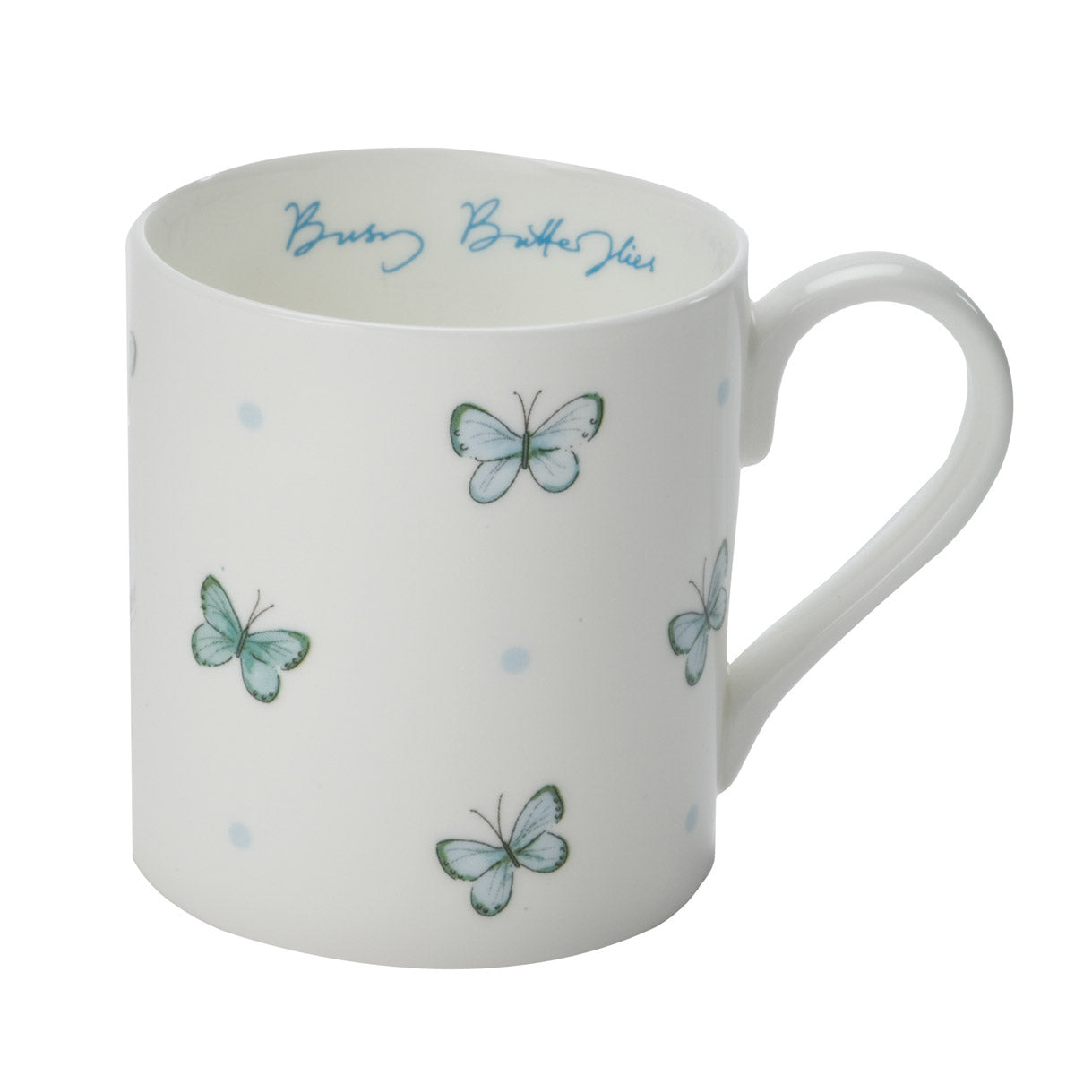 Butterflies and Dots Mug