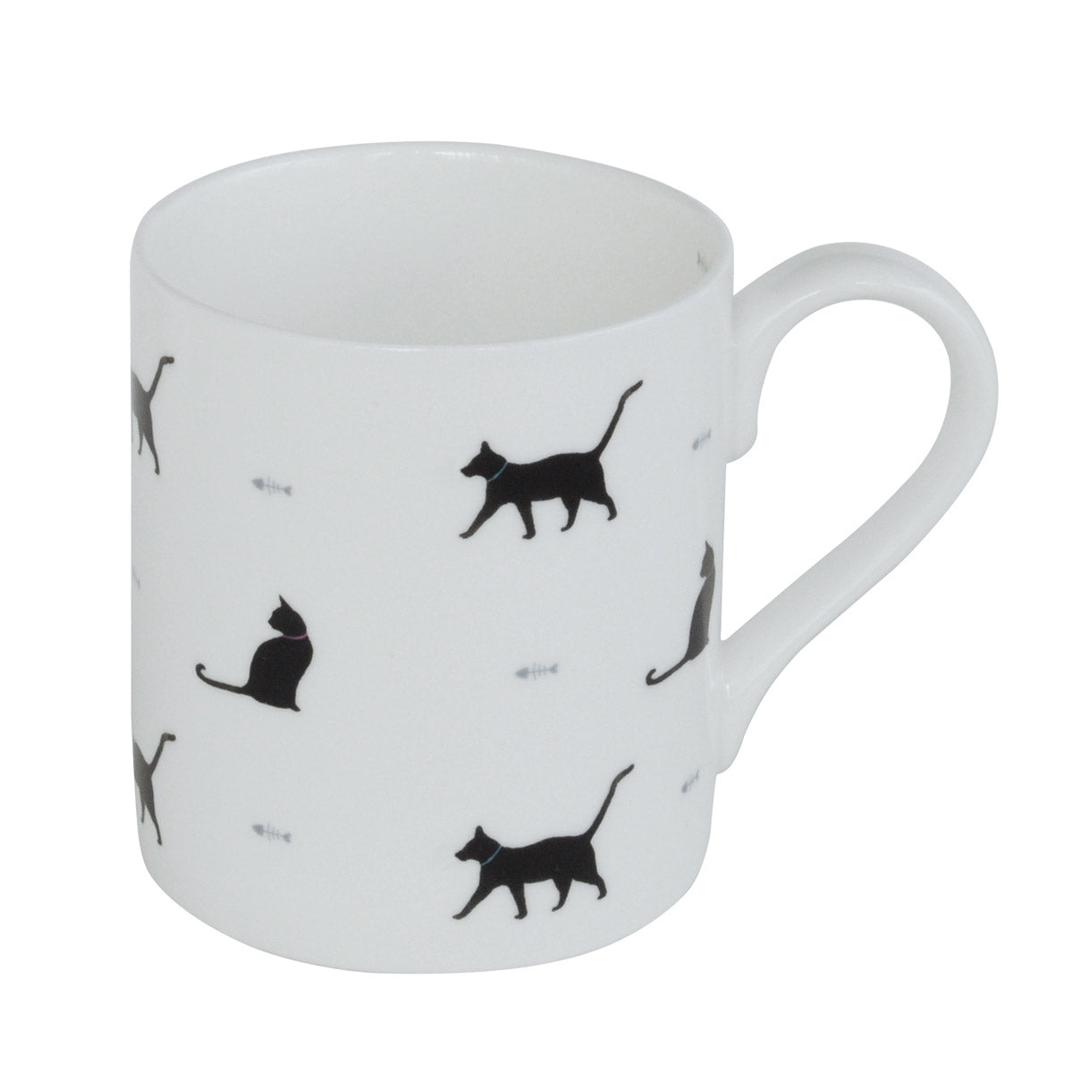 Black Cat & Bone Mug