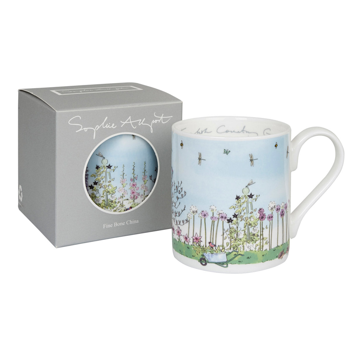 ce9df114096 Fine Bone China Mugs | Porcelain Coffee Cups – Sophie Allport