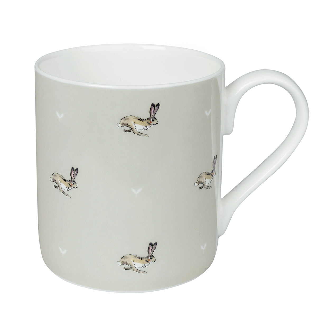 Bunny & Seed Stone Mug by Sophie Allport