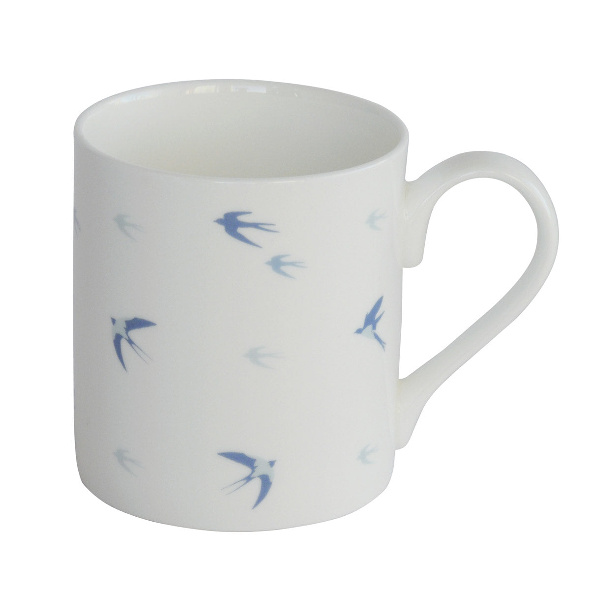 Swallow White Mug