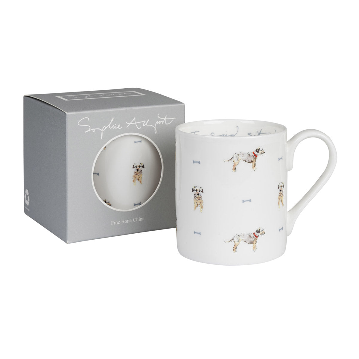 I Said Sit! Terrier Mug