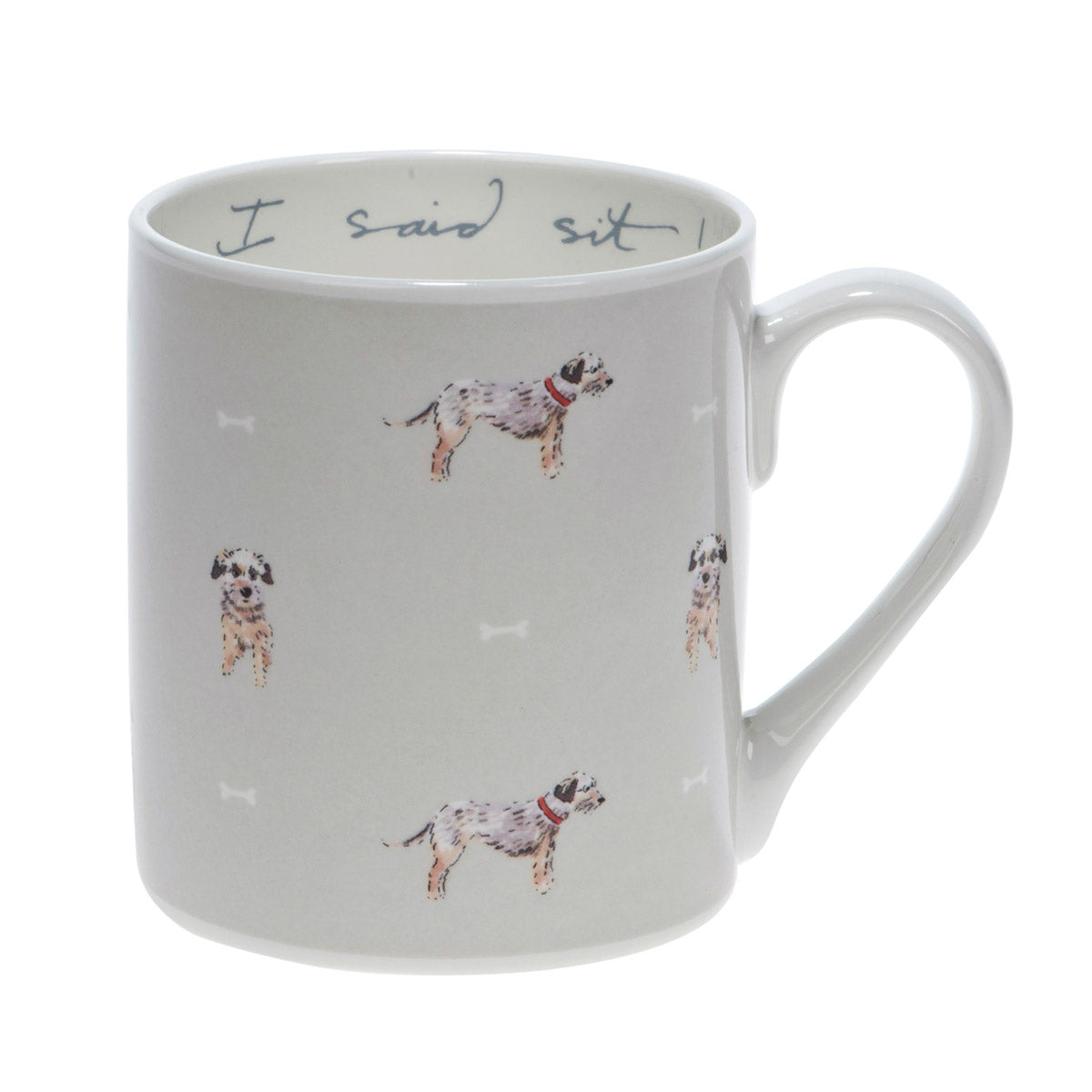 I Said Sit! Terrier Mug - Coloured