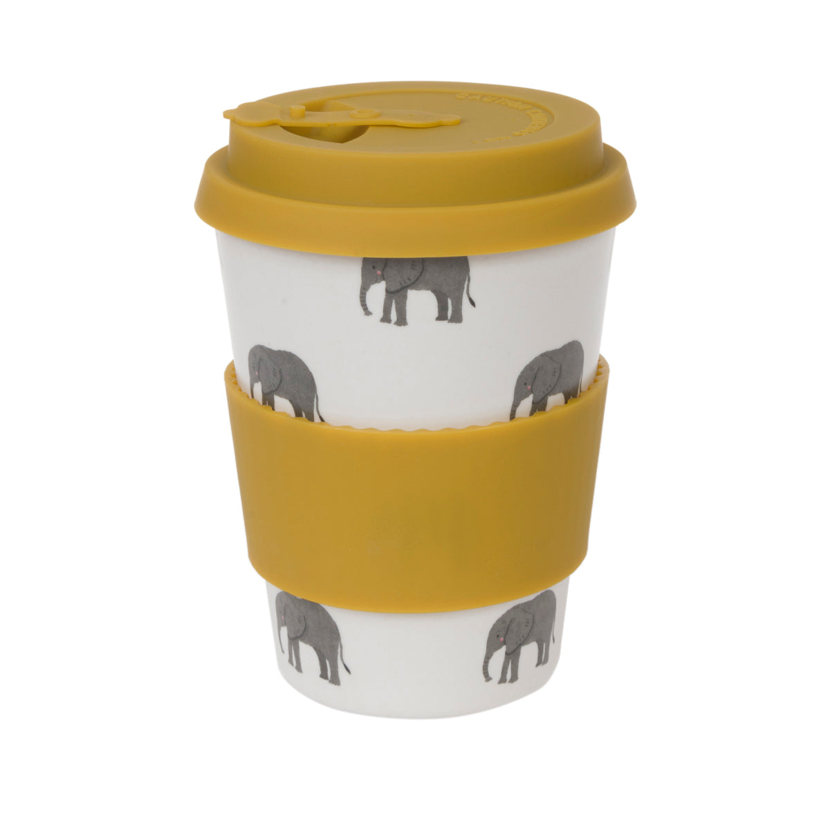 Elephant Bamboo Travel Mug by Sophie Allport