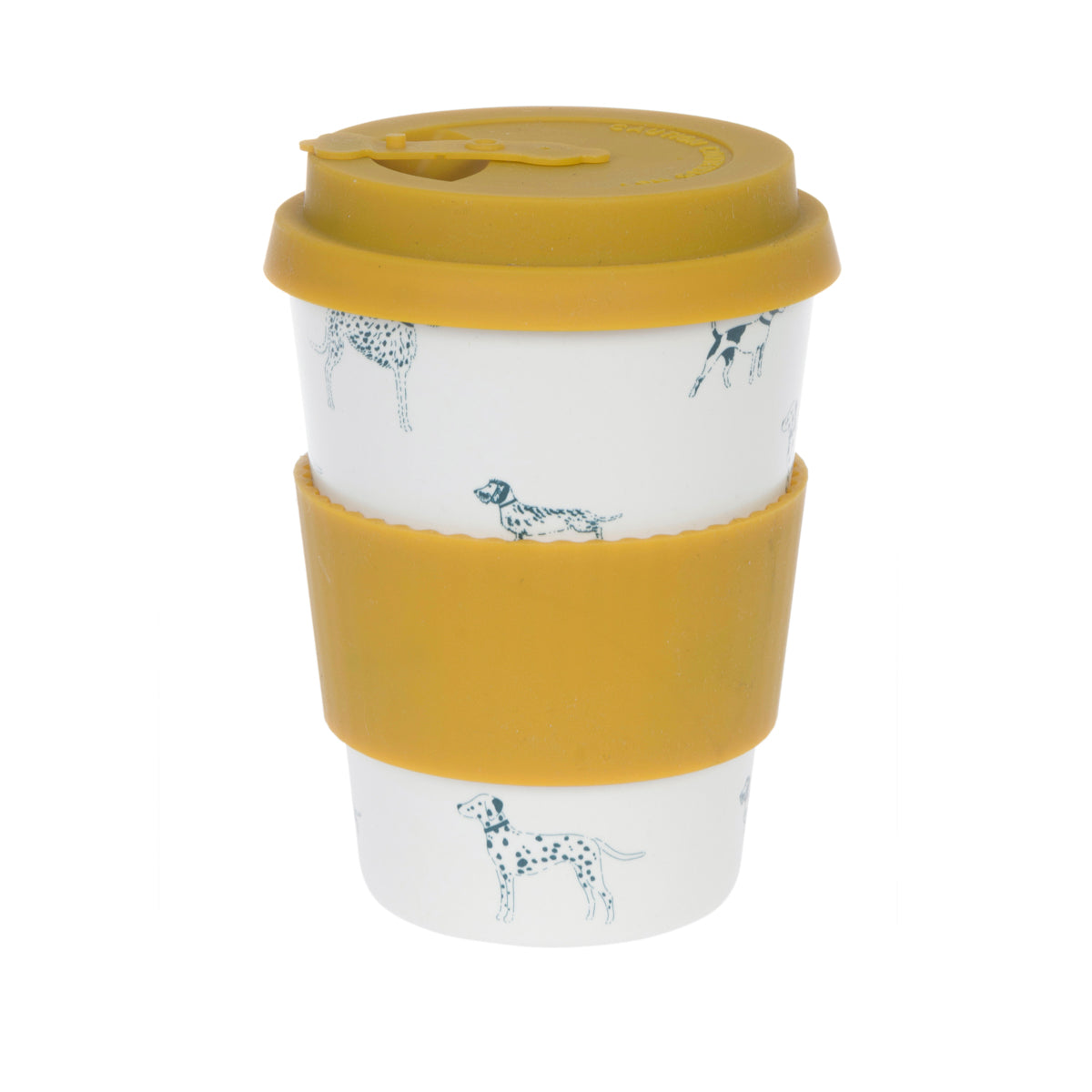 Fetch Bamboo Travel Mug by Sophie Allport