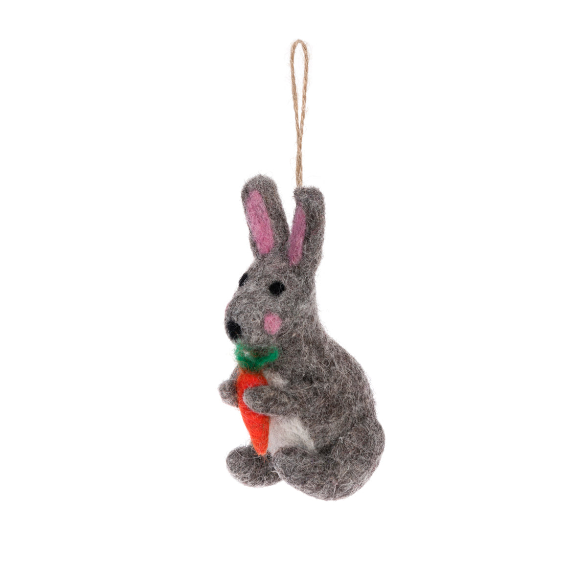 Hare Felt Easter Decoration by Sophie Allport