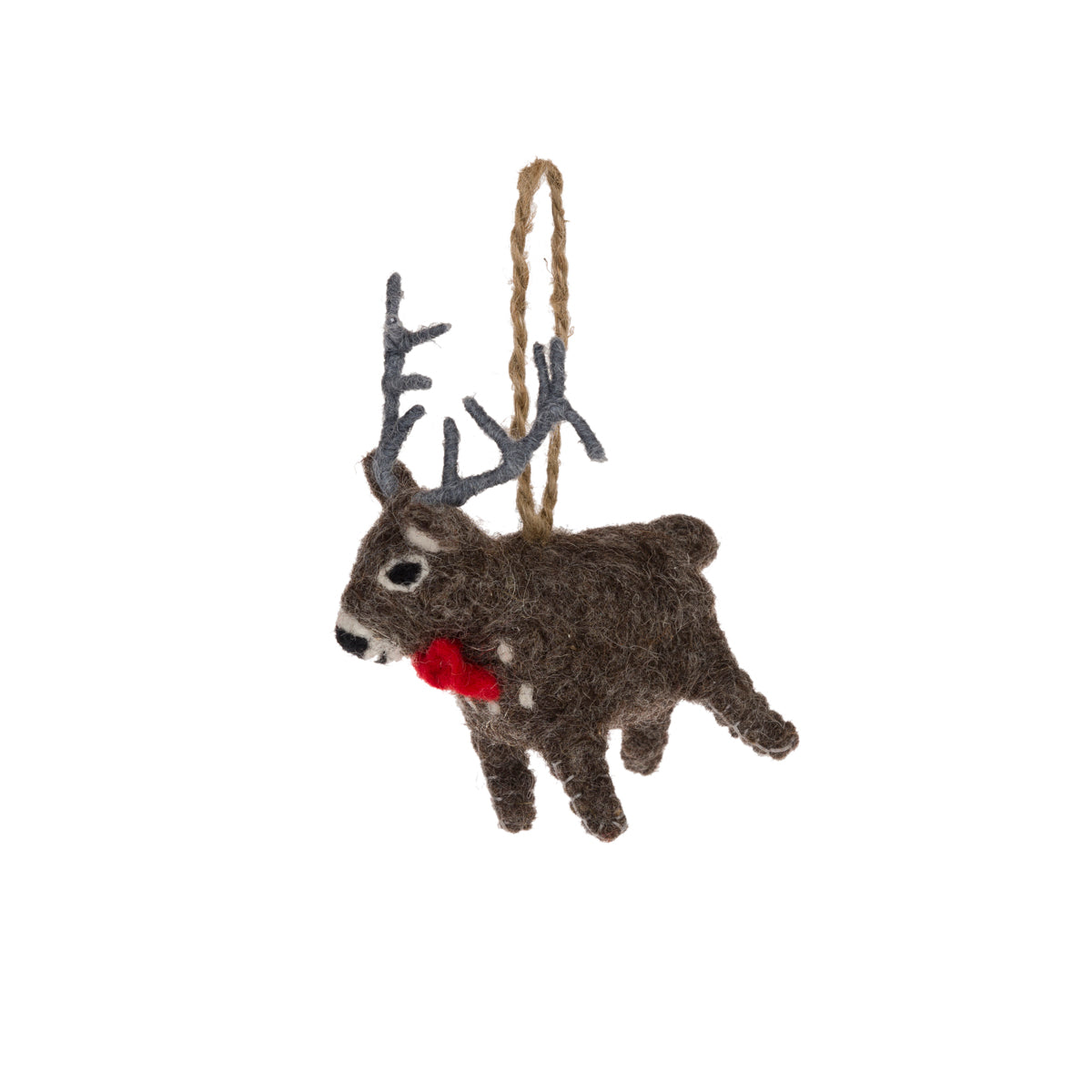 Highland Stag Felt Decoration