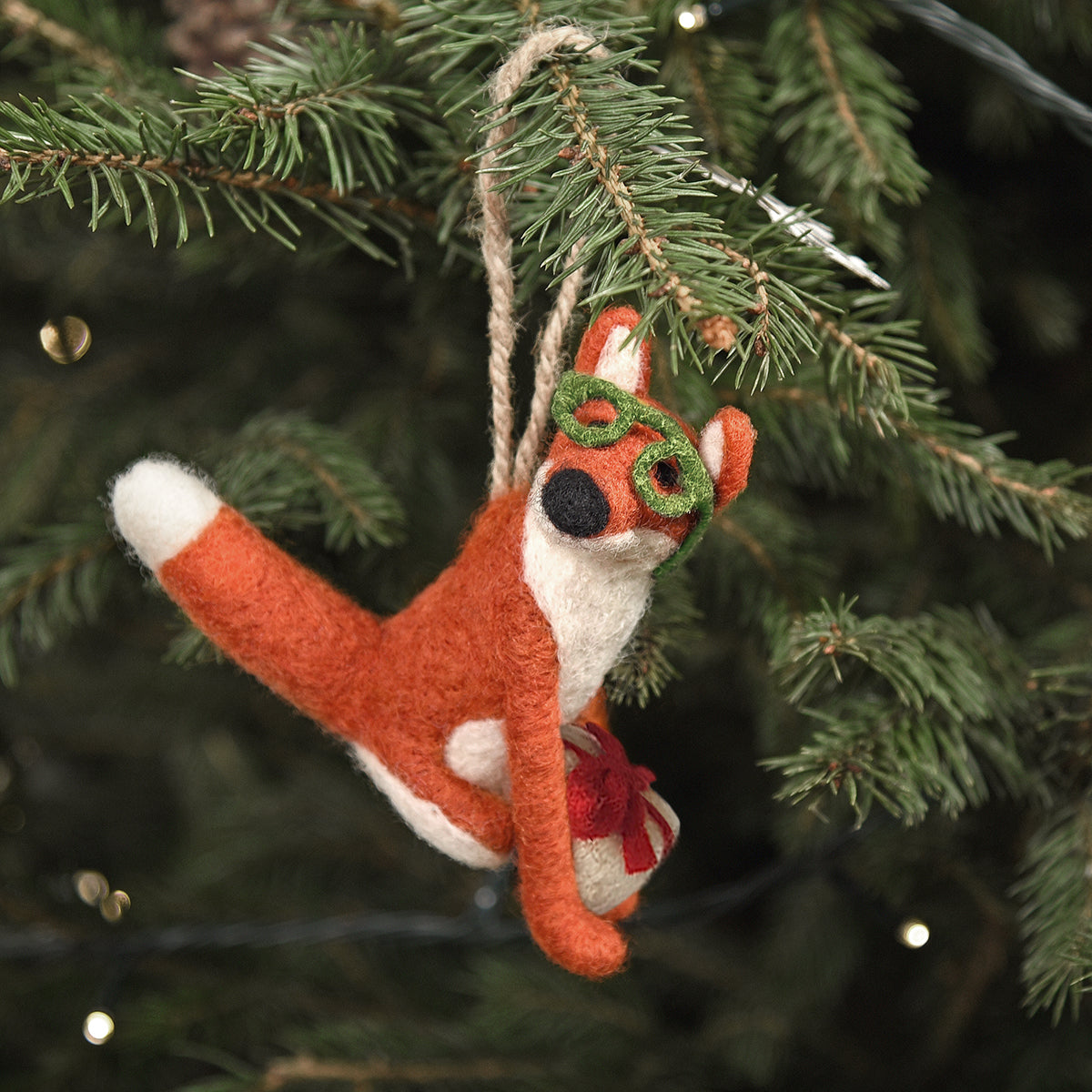 Fox Felt Decoration