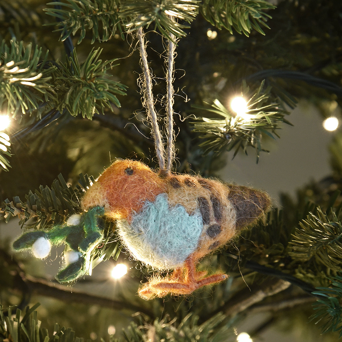 Partridge Felt Decoration