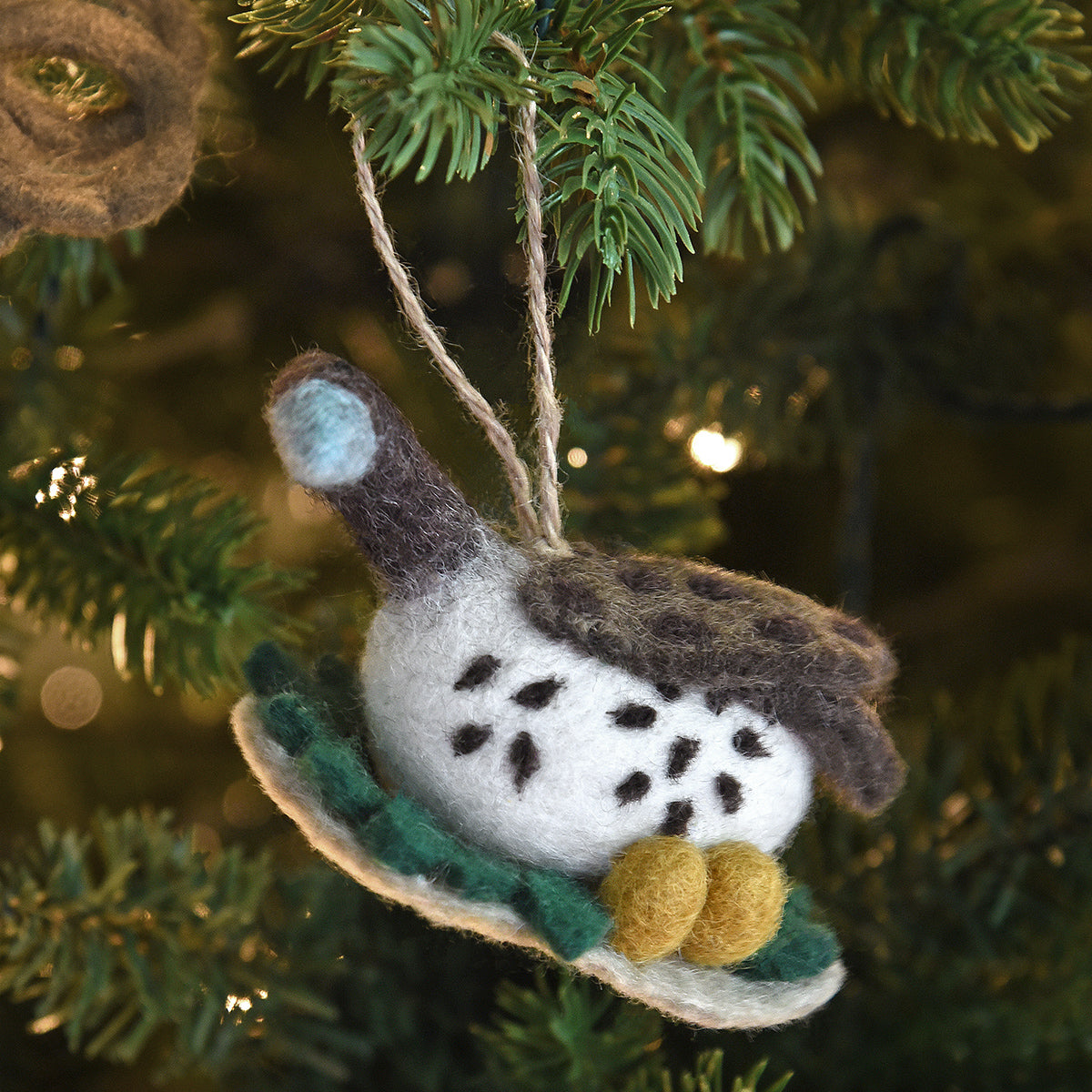 Goose Felt Decoration