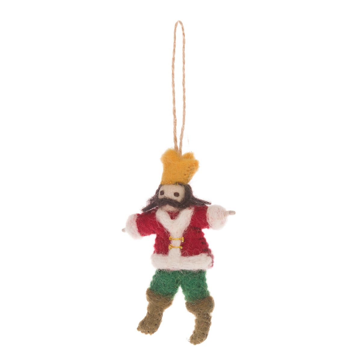 Lord Leaping Felt Decoration