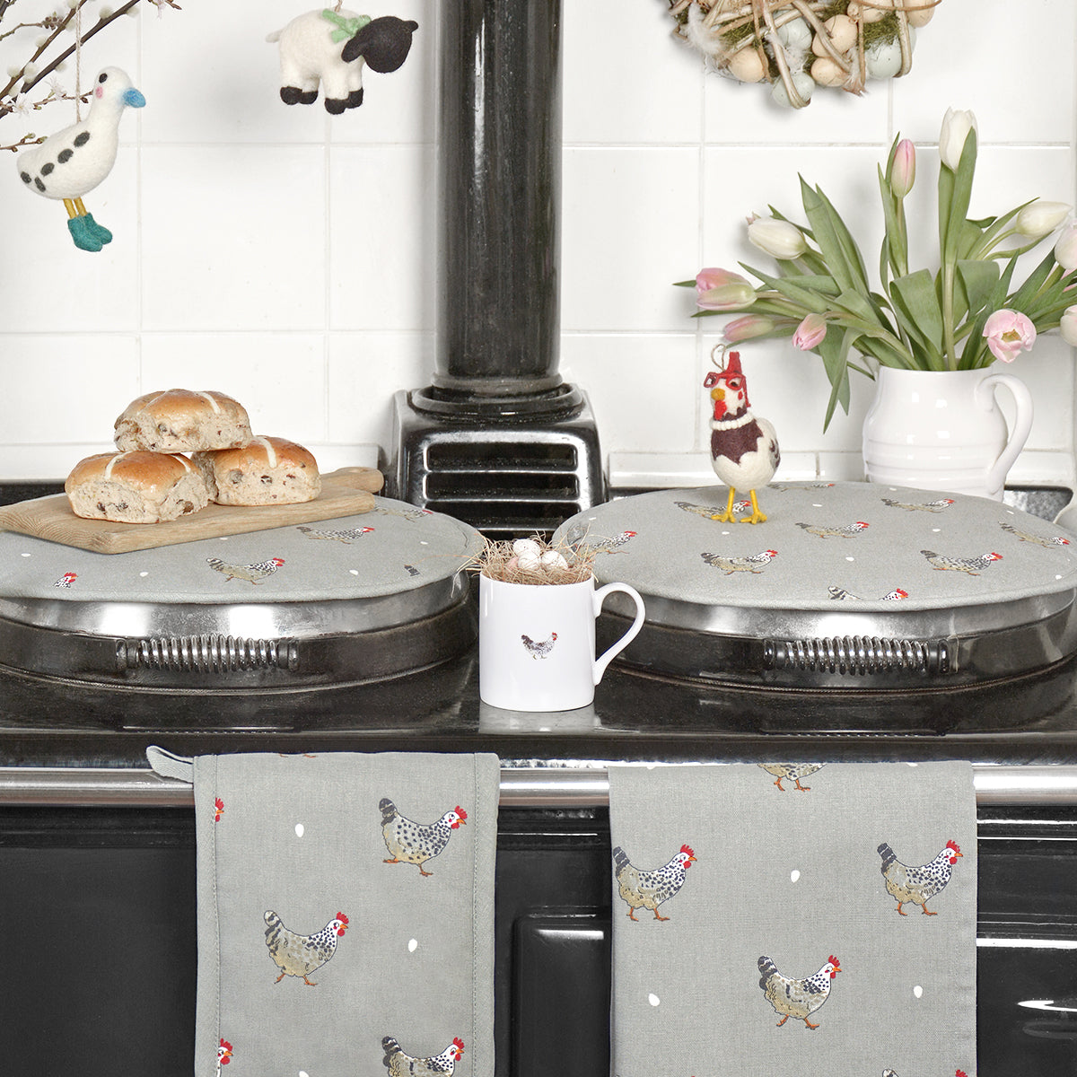 Chicken Circular Hob Cover