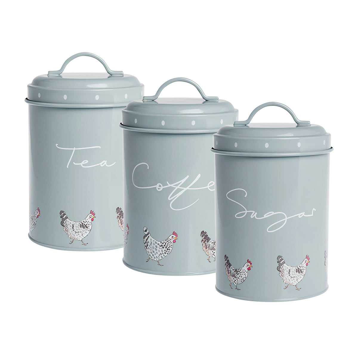 Chicken Storage Tins (Set of 3)