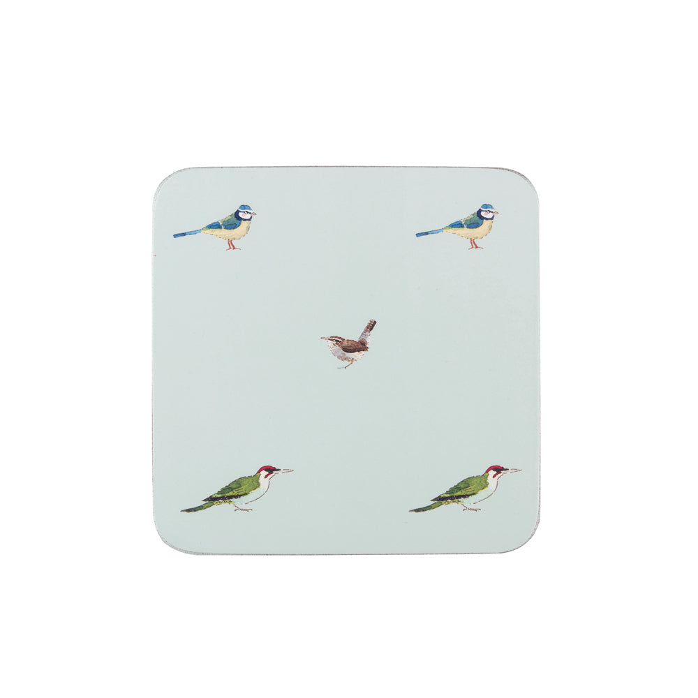 Garden Birds Coasters (Set Of 4)