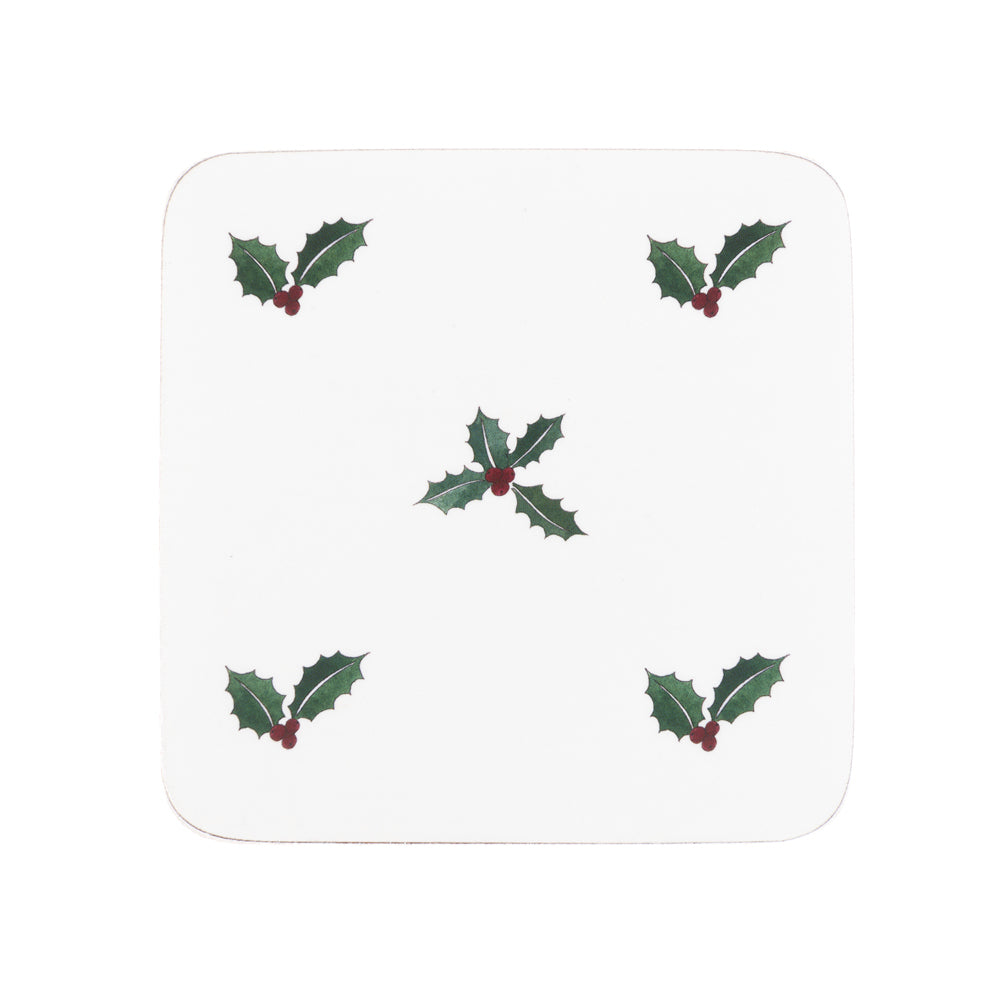 Holly & Berry Coasters