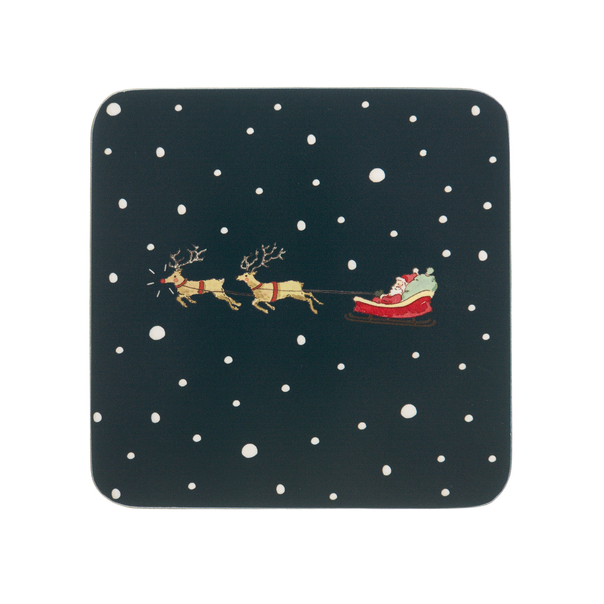 Home for Christmas Coasters (Set of 4)