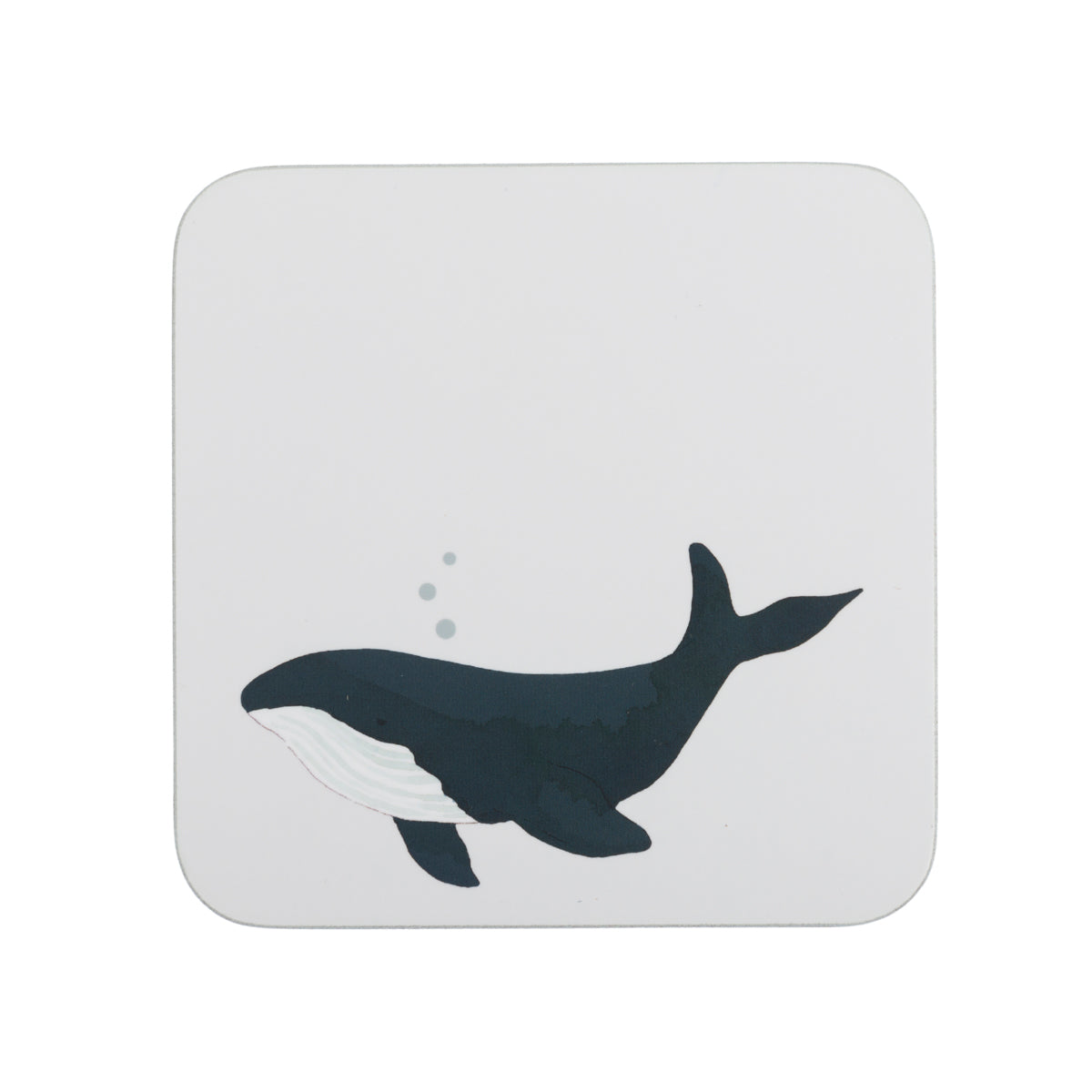 Whales Cork Coasters (Set of 4) by Sophie Allport