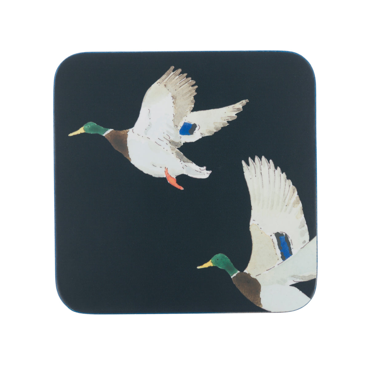 Country ducks cork coasters by Sophie Allport