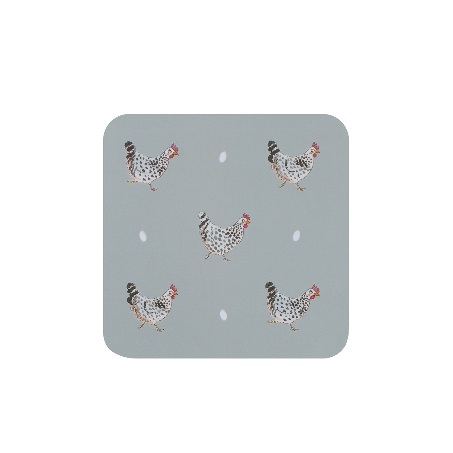 Chicken Coasters - Set of 4
