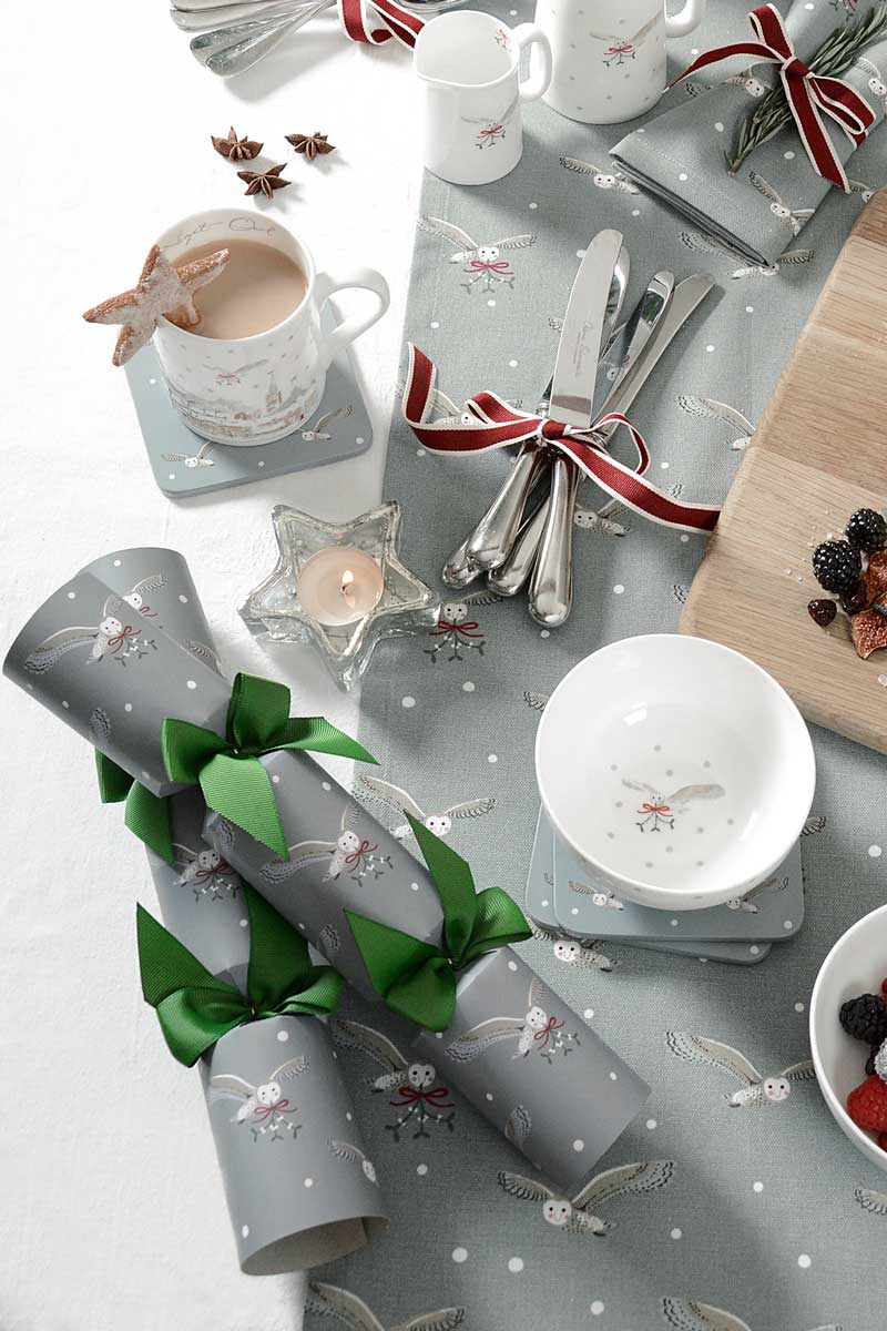 Night Owl Christmas Crackers (set of 6)