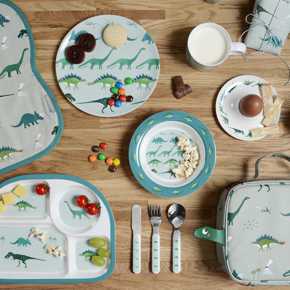 Dinosaurs Childrens Melamine Cutlery Set