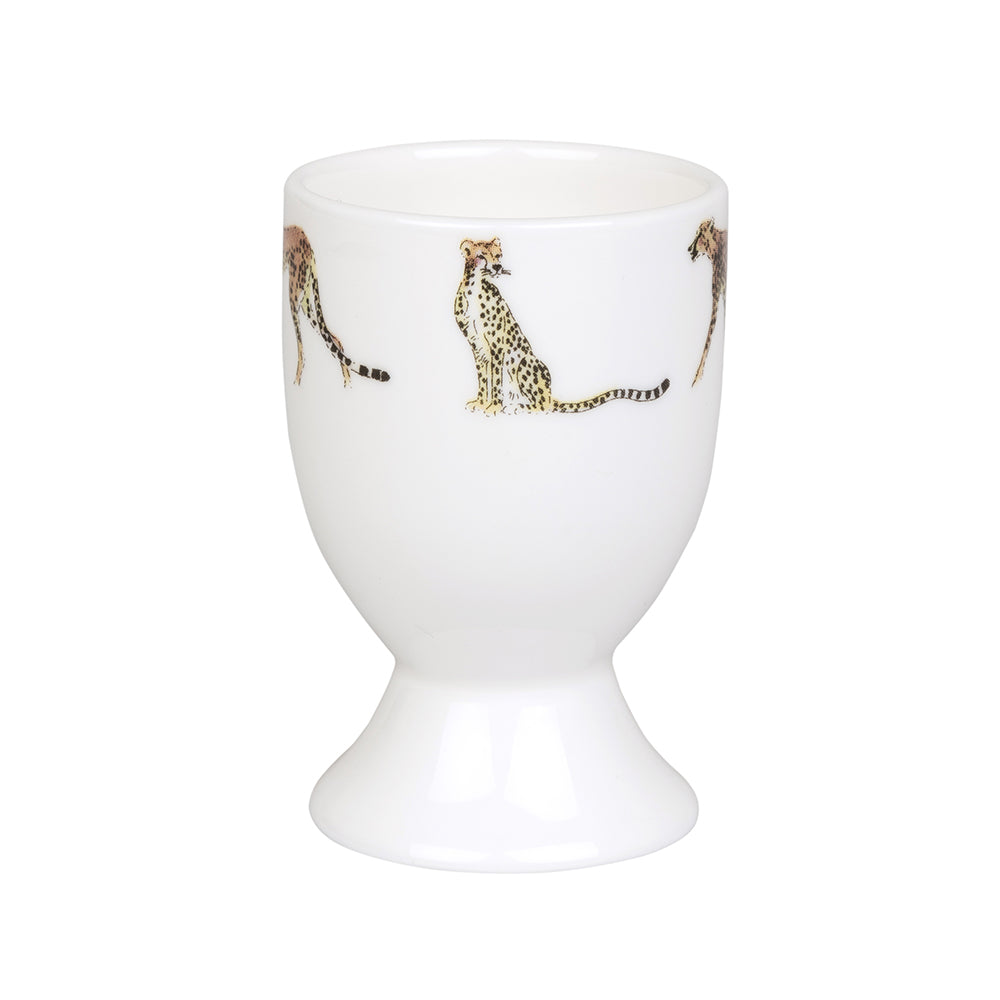 Cheetah Egg Cup