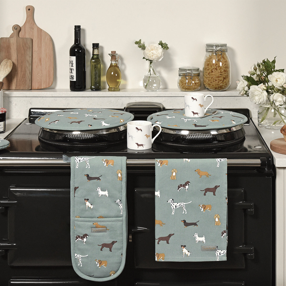 Fetch Double Oven Glove by Sophie Allport