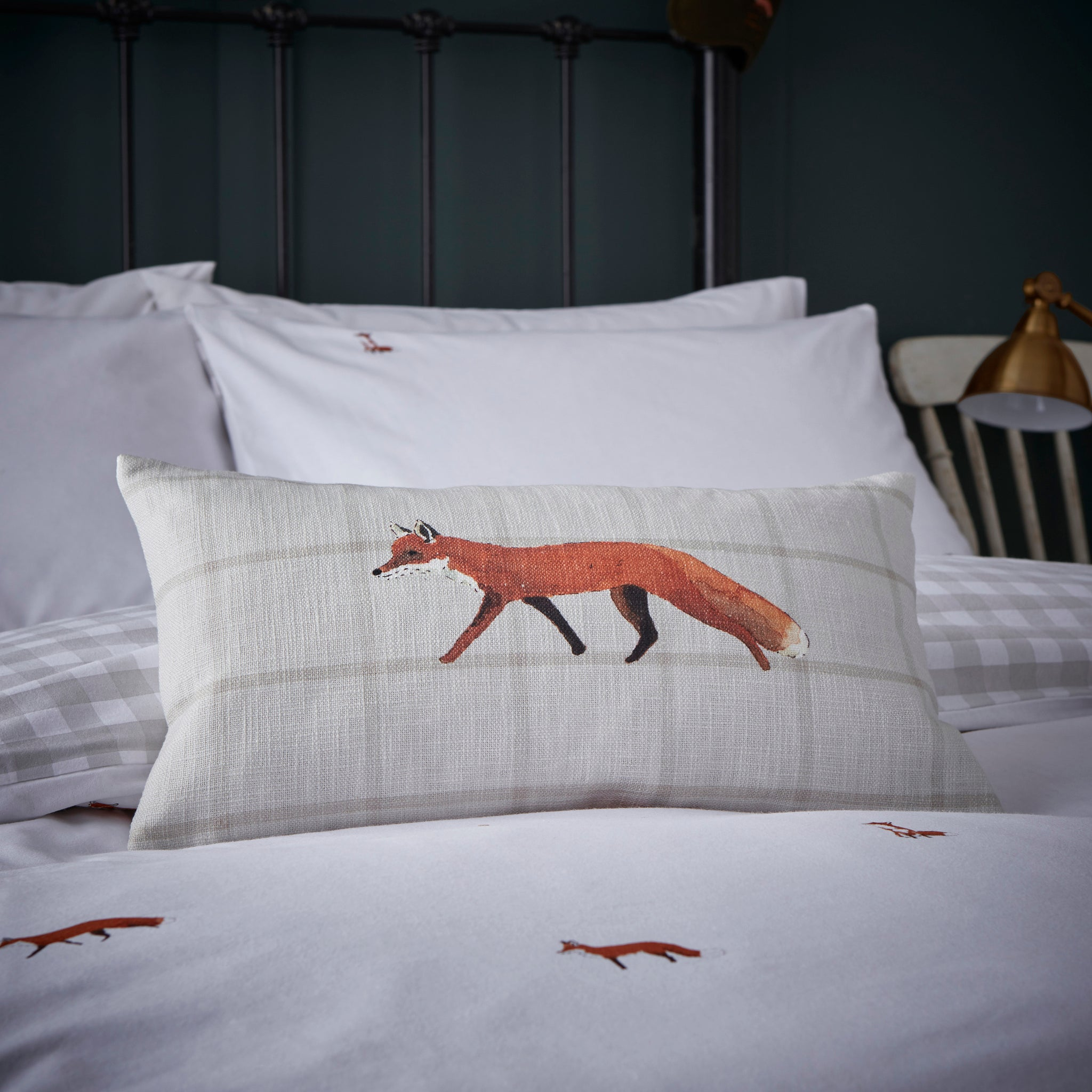 Foxes Decorative Cushion