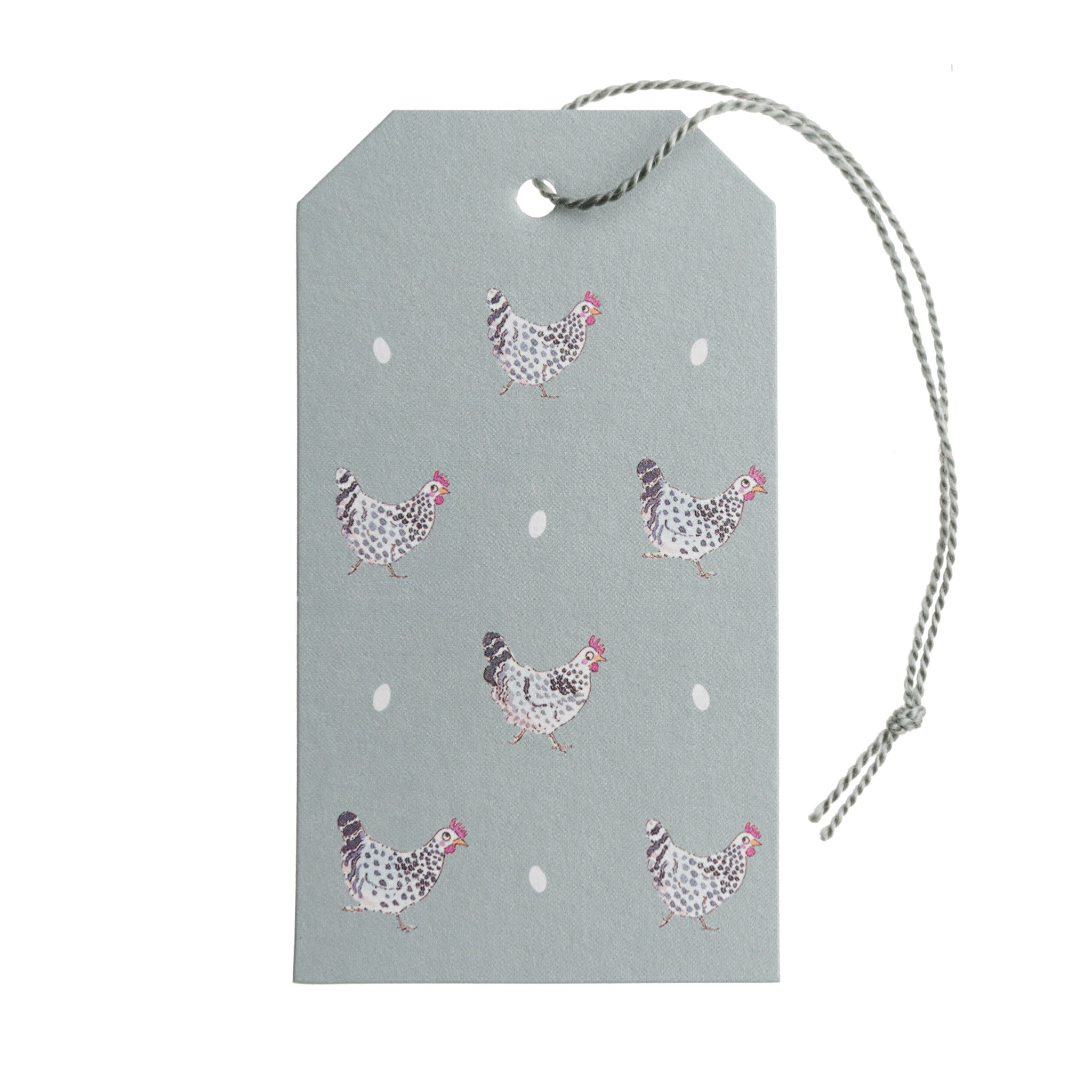 Chicken Gift Tags - Set of 10
